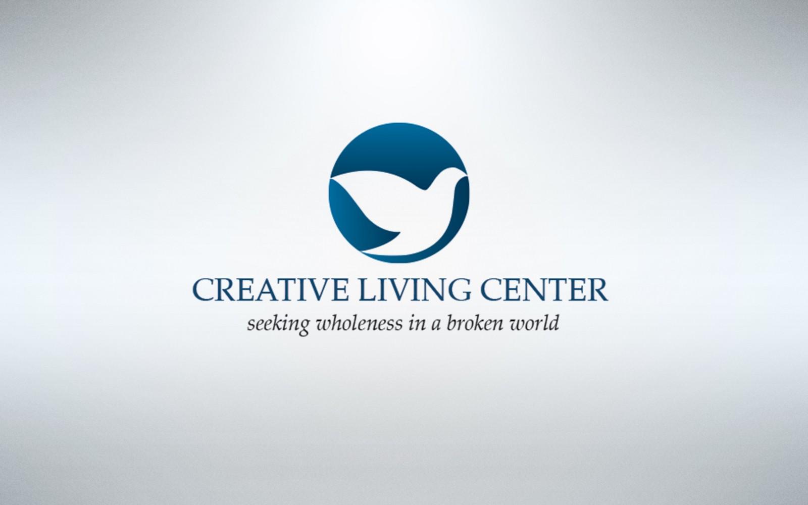 Creative Living Center Concept Logo