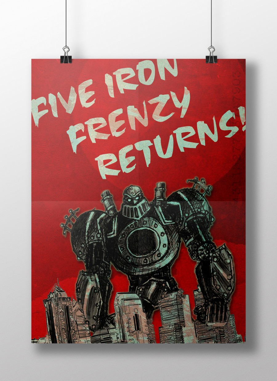 Five Iron Frenzy Poster