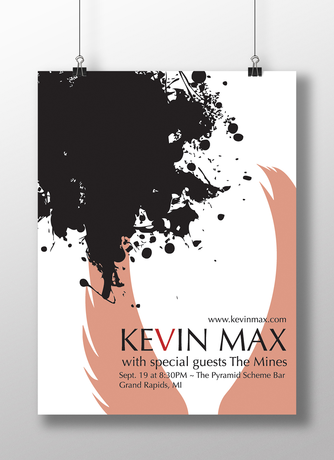 Kevin Max Poster