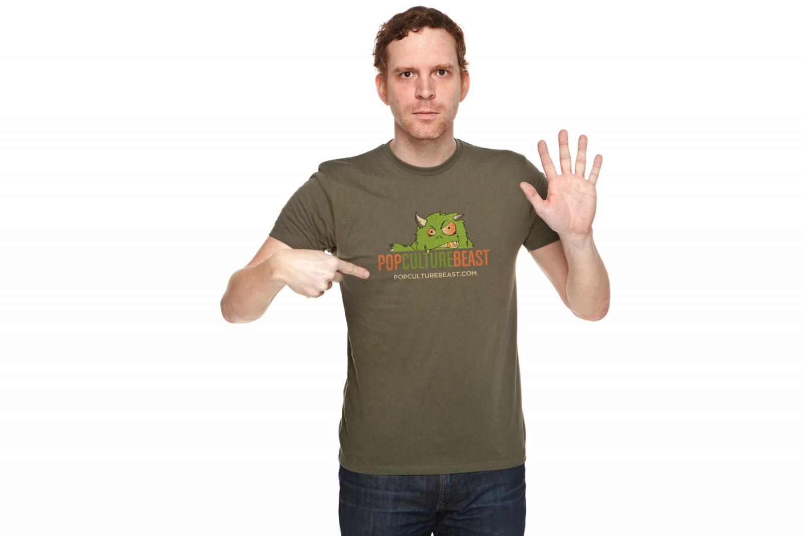 Pop Culture Beast T-Shirt